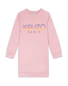 Kenzo - Girls' Cotton Logo Sweatshirt Dress - Big Kid