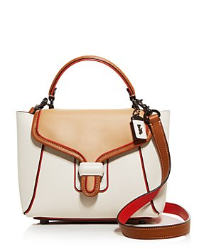 COACH - Courier Bag Color Block Leather Crossbody