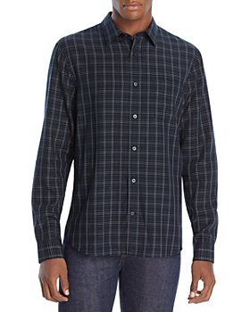Vince - Graphic Plaid Button Front Shirt