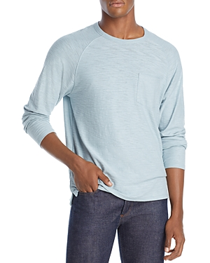 Vince Single Pocket Slub Crewneck Tee-Men