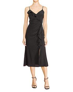 Parker - Ellender Ruffled Midi Dress