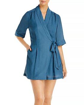Brochu Walker - Halsey Shawl Collar Dress