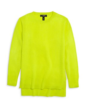 AQUA - Girls' Cashmere Neon Waffle Tunic, Big Kid - 100% Exclusive
