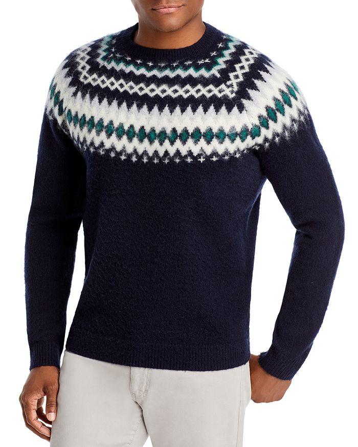 The Men's Store at Bloomingdale's - Merino Wool Fair Isle Sweater - 100% Exclusive