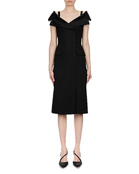 Alberta Ferretti - Enver Satin Midi Dress