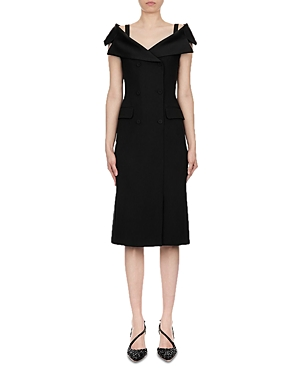 Alberta Ferretti Enver Satin Midi Dress-Women