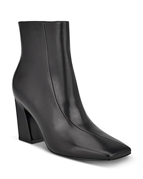 Sigerson Morrison - Women's Ervin Square Toe High Heel Booties