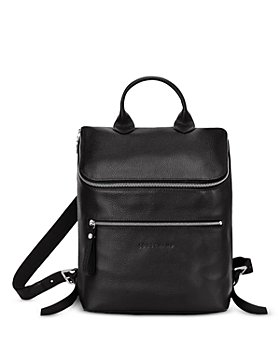 Longchamp - Le Foulonne Leather Backpack