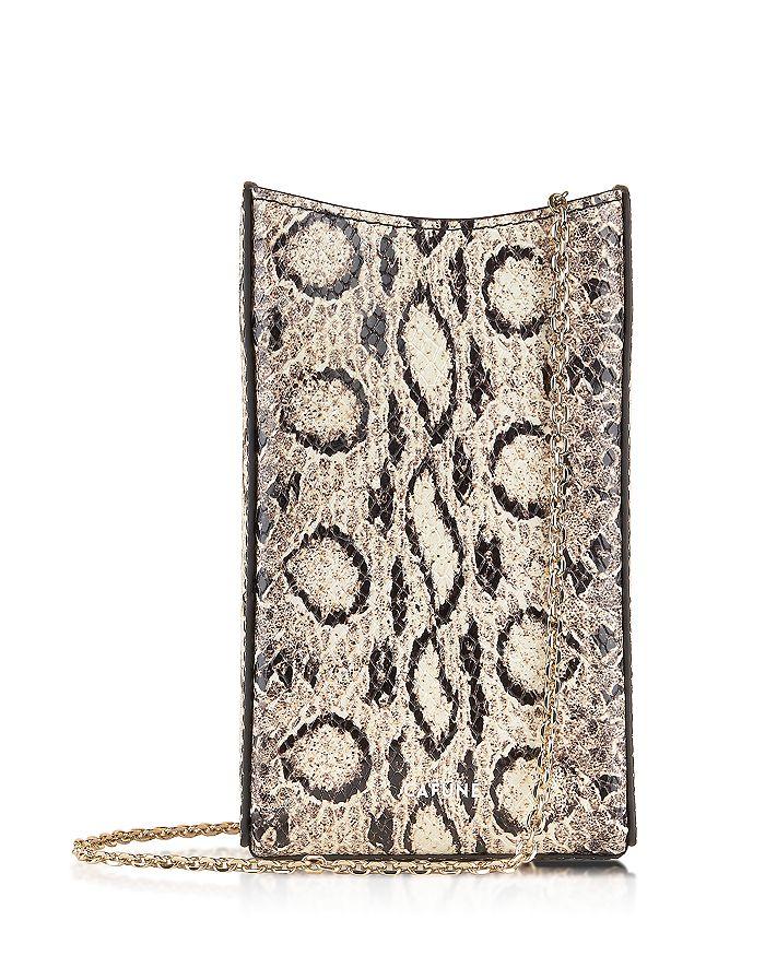 Cafuné - Camber Python-Print Leather Sling Bag