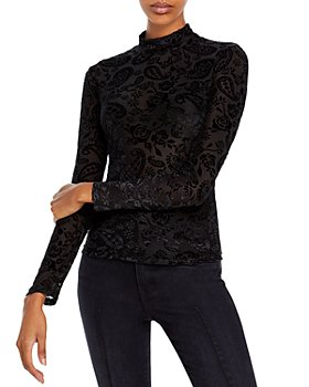 FORE - Knit Patterned Turtleneck