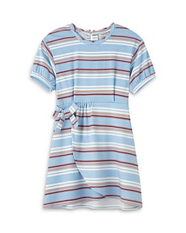 Habitual Kids - Girls' Aubrielle Mock Wrap Dress - Little Kid