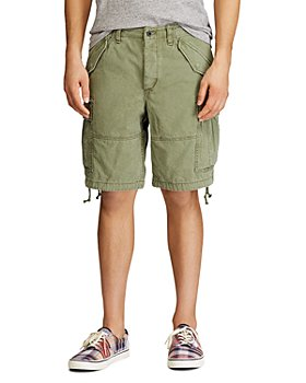 Polo Ralph Lauren - Cotton Indigo Classic Tapered Fit Cargo Shorts