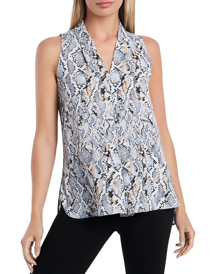 Vince Camuto Blouses SNAKE PRINT TOP