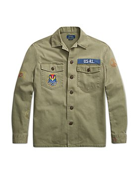 Polo Ralph Lauren - Peace Love Polo Cotton Herringbone Twill Overshirt