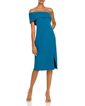Eliza J - One Shoulder Sheath Dress