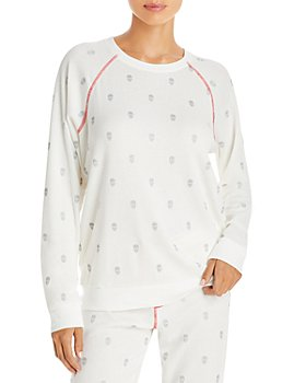 PJ Salvage - Skull Print Thermal Pajama Top - 100% Exclusive