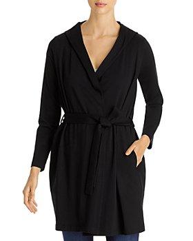 Eileen Fisher - Hooded Wrap Jacket
