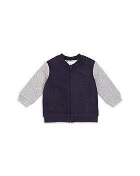 Miles Baby - Boys' Zip Up Ottoman Bomber Jacket - Baby