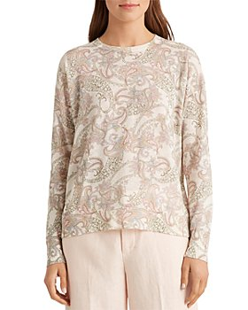 Ralph Lauren - Printed Long Sleeve Sweater
