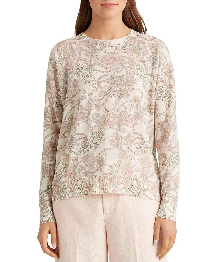 Ralph Lauren - Printed Long Sleeve Sweater