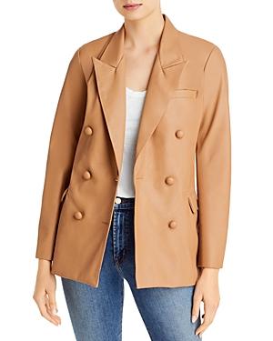 Blanknyc Faux Leather Blazer-Women