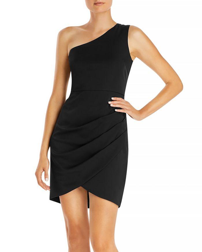 AQUA - One Shoulder Cocktail Dress - 100% Exclusive