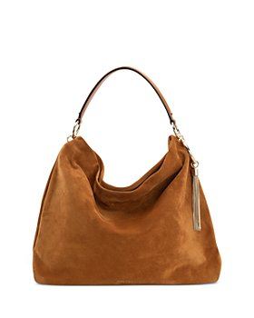 Jimmy Choo - Callie Large Suede Shoulder Bag