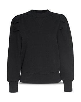 FRAME - Shirred Sweatshirt - 100% Exclusive
