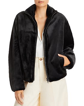 Vince - Plush Faux Fur Jacket