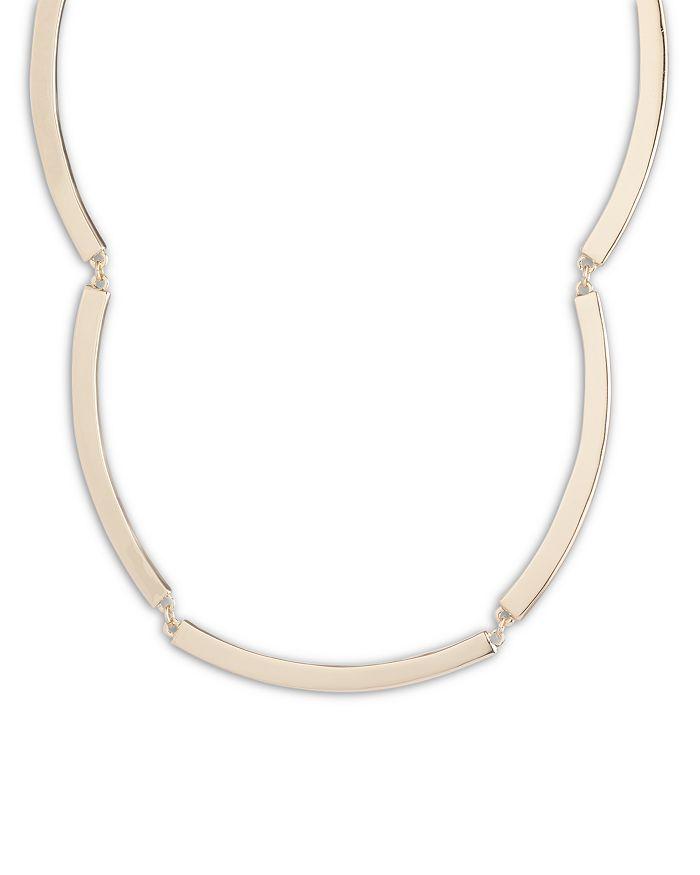 "Ralph Lauren - Curved Bar Collar Necklace, 16"""