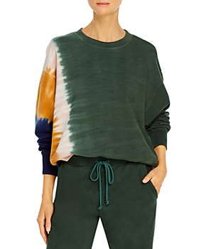 Velvet by Graham & Spencer - Cotton Tie Dyed Sweatshirt