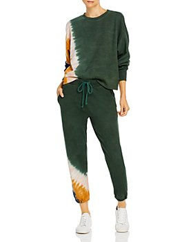 Velvet by Graham & Spencer - Tie Dyed Sweatshirt & Jogger Pants