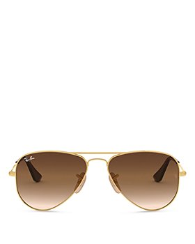 Ray-Ban - Junior Unisex Pilot Solid Sunglasses, 52mm