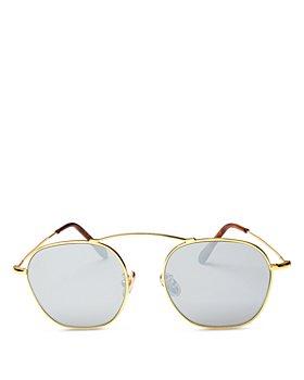Illesteva - Unisex Bowery Round Sunglasses 52mm