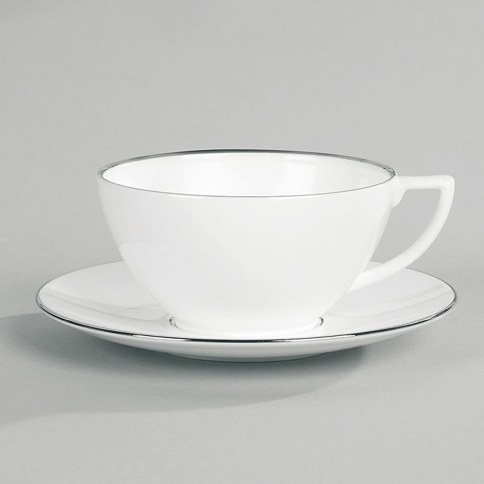 "Jasper Conran Wedgwood - Jasper Conran at Wedgwood ""Platinum"" Tea Saucer"