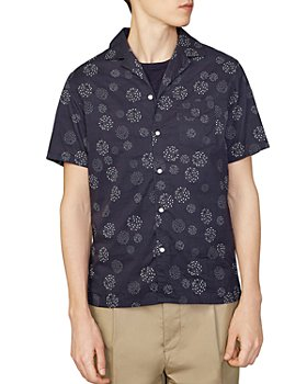 Officine Générale - Circle Dot Camp Shirt