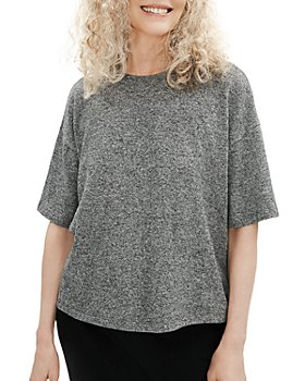 Eileen Fisher - Marled Elbow Sleeve Top