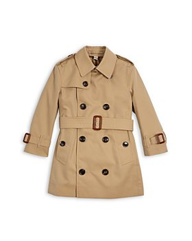 Burberry - Girls' Mayfair Trench Coat - Little Kid, Big Kid