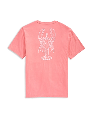 Vineyard Vines Cotton Graphic Pocket Tee-Men