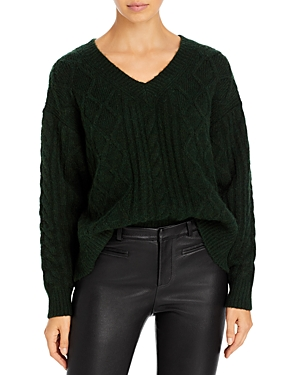 See By Chloé SEE BY CHLOE ARAN KNIT SWEATER
