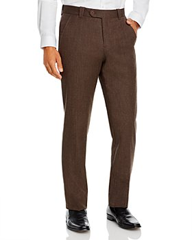 The Men's Store at Bloomingdale's - Wool Blend Tailored Fit Pants - 100% Exclusive