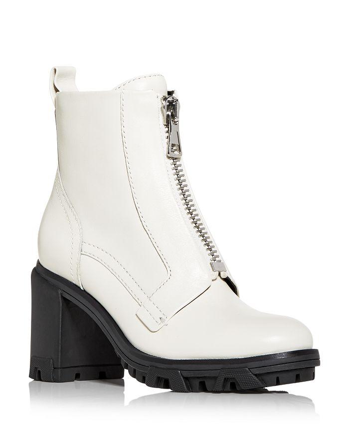 rag & bone - Women's Shiloh Zip High Block Heel Combat Boots