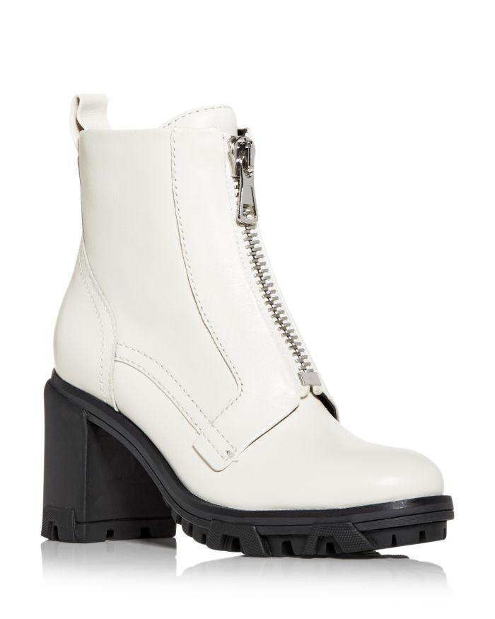 Rag & bone Women's Shiloh Zip High Block Heel Combat Boots    Bloomingdale's
