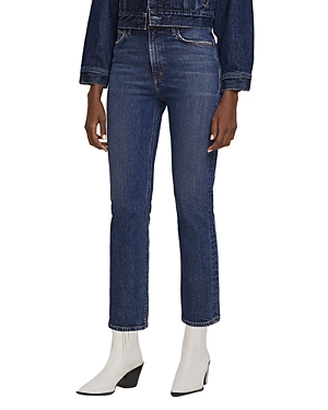 Agolde Wilder Straight Jeans in Hype