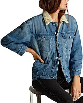 AMO - Fleece Lined Denim Jacket