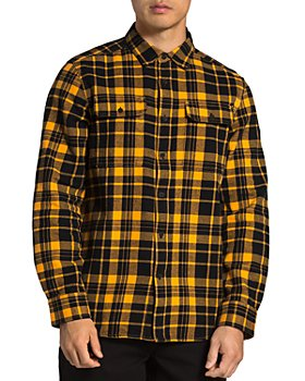 The North Face® - Arroyo Cotton Plaid Regular Fit Flannel Button Down Shirt
