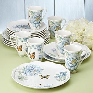 Lenox Butterfly Meadow 18 Piece Dinnerware Set