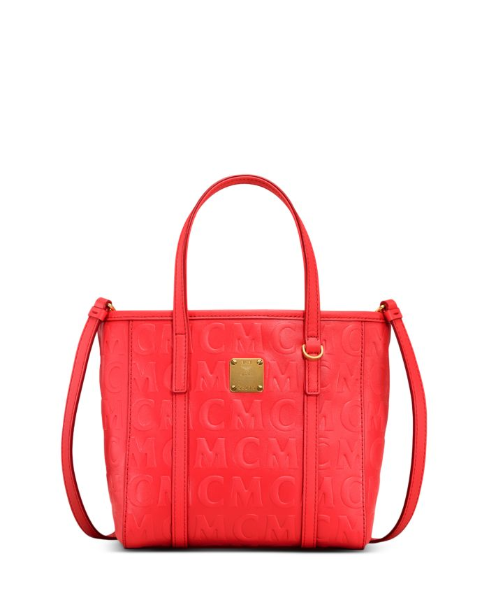 MCM Toni Mini Leather Shoulder Bag  | Bloomingdale's