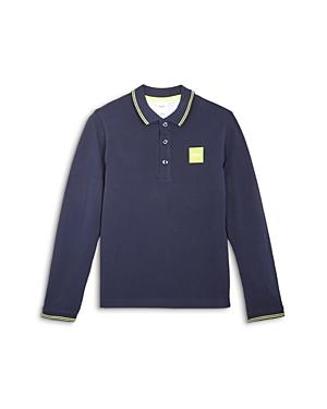 'Boss Hugo Boss Boys' Long Sleeve Polo Shirt - Big Kid