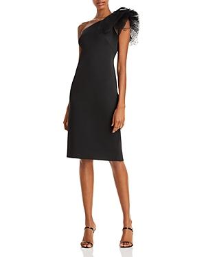 Eliza J One Shoulder Cocktail Dress-Women
